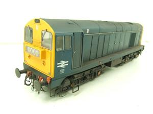 HelJan O Gauge 2014 Class 20 BR Blue With Full Yellow Ends Diesel Loco Weathered Electric Bxd image 9