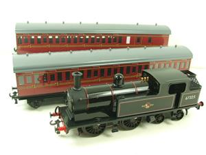 Ace Trains O Gauge E25/S-E1 BR Black G5 Tank Loco & Coaches Set Electric 2/3 Rail Boxed image 3