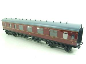 Ace Trains O Gauge C18A LMS Maroon Stainier Coaches x3 B/New Bxd 2/3 Rail Set A image 6