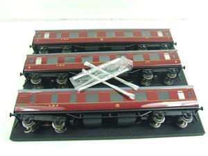 Ace Trains O Gauge C18A LMS Maroon Stainier Coaches x3 B/New Bxd 2/3 Rail Set A image 9