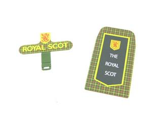"Ace Trains O Gauge HB/3 ""Royal Scot"" Train Name Board Set image 3"