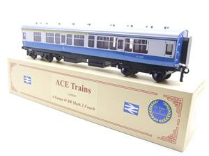 Ace Trains O Gauge C13-CB BR Mark 1 Corridor Composite Coach RN M15627 Boxed image 3