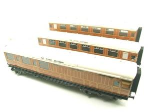 "Ace Trains O Gauge C4 LNER ""The Flying Scotsman"" x3 Corridor Coaches Set B Boxed image 2"