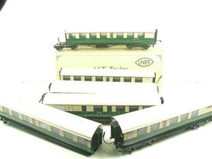 Ace Trains O Gauge C/4 LNER Articulated Tourist Stock x6 Coaches Set Boxed image 1