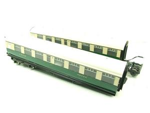 Ace Trains O Gauge C/4 LNER Articulated Tourist Stock x6 Coaches Set Boxed image 2