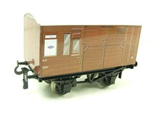 "Ace Trains O Gauge G2 Van Series LNER ""Horse Box"" Van R/N NE 2327 Tinplate image 2"