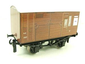 "Ace Trains O Gauge G2 Van Series LNER ""Horse Box"" Van R/N NE 2327 Tinplate image 6"