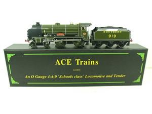 "Ace Trains O Gauge E10 SR Schools Class ""Harrow"" R/N 919 Electric 2/3 Rail Boxed image 1"