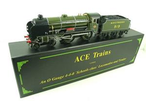 "Ace Trains O Gauge E10 SR Schools Class ""Harrow"" R/N 919 Electric 2/3 Rail Boxed image 5"