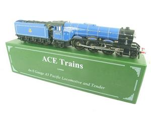 "Ace Trains O Gauge E6 A3 Pacific BR Blue ""Papyrus"" R/N 60096 Electric 3 Rail Bxd image 2"
