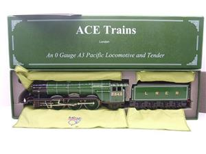 "Ace Trains O Gauge E/6 A3 Pacific Class LNER ""Diamond Jubilee"" R/N 2545 Electric 3 Rail Boxed image 1"