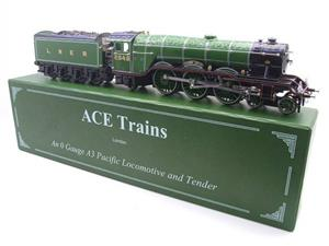 "Ace Trains O Gauge E/6 A3 Pacific Class LNER ""Diamond Jubilee"" R/N 2545 Electric 3 Rail Boxed image 3"