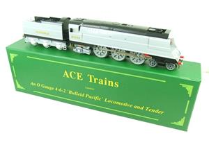 "Ace Trains O Gauge E9 Bulleid Pacific SR ""Fighter Command"" R/N 21C164 Elec Boxed image 2"