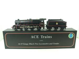 Ace Trains O Gauge E19-C1 BR Satin Black 5 Loco & Tender R/N 45126 Electric 2/3 Rail Bxd image 1