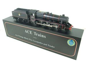 Ace Trains O Gauge E19-C1 BR Satin Black 5 Loco & Tender R/N 45126 Electric 2/3 Rail Bxd image 4