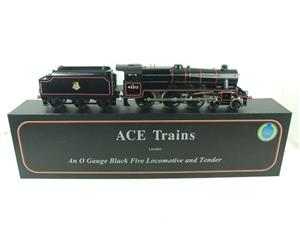 Ace Trains O Gauge E19-C2 Early BR Gloss Black 5 4-6-0 Loco & Tender R/N 45212 image 1