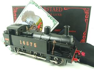 Darstaed O Gauge LMS Unlined Black Class 3F Jinty Tank Loco R/N 16575 Bxd Electric 3 Rail image 1