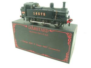 Darstaed O Gauge LMS Unlined Black Class 3F Jinty Tank Loco R/N 16575 Bxd Electric 3 Rail image 3