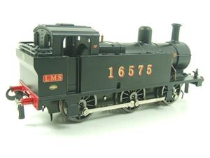 Darstaed O Gauge LMS Unlined Black Class 3F Jinty Tank Loco R/N 16575 Bxd Electric 3 Rail image 5