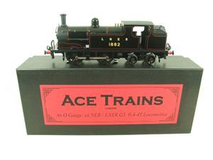 Ace Trains O Gauge E25B1 LNER Black G5 Tank Loco R/N 1882 Electric 2/3 Rail Boxed image 1