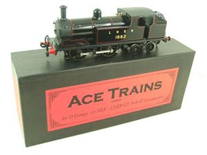 Ace Trains O Gauge E25B1 LNER Black G5 Tank Loco R/N 1882 Electric 2/3 Rail Boxed image 3