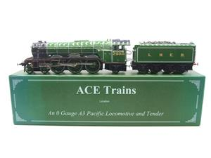 "Ace Trains O Gauge LNER Green A3 Pacific ""Windsor Lad"" RN 2500 Electric 3 Rail Bxd image 1"