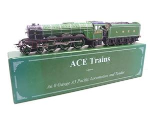 "Ace Trains O Gauge LNER Green A3 Pacific ""Windsor Lad"" RN 2500 Electric 3 Rail Bxd image 3"