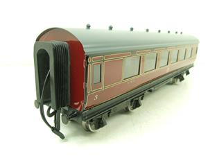 Darstaed O Gauge LMS All 3rd Side Corridor Coach R/N 3033 Lit Interior image 4