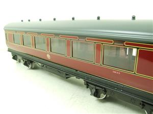 Darstaed O Gauge LMS All 3rd Side Corridor Coach R/N 3033 Lit Interior image 5