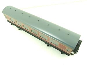 Darstaed O Gauge LMS All 3rd Side Corridor Coach R/N 3033 Lit Interior image 6