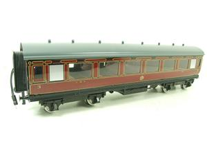 Darstaed O Gauge LMS All 3rd Side Corridor Coach R/N 3033 Lit Interior image 8