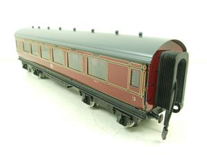 Darstaed O Gauge LMS All 3rd Side Corridor Coach R/N 3033 Lit Interior image 9