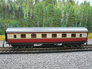 Darstaed O Gauge BR Twelve Wheel Side Corridor Coach R/N M346M Lit Interior image 5