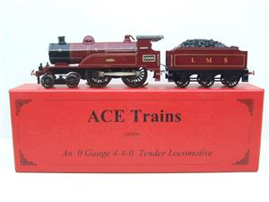"Ace Trains O Gauge E3 ""LMS Maroon"" 4-4-0 Loco & Tender R/N 2006 Electric 3 Rail Boxed image 1"