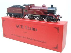 "Ace Trains O Gauge E3 ""LMS Maroon"" 4-4-0 Loco & Tender R/N 2006 Electric 3 Rail Boxed image 4"