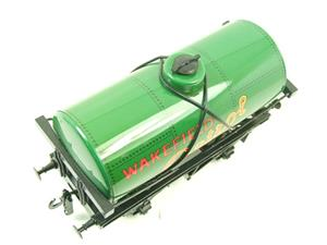 "Ace Trains O Gauge G1 Four Wheel ""Wakefield Castrol Motor Oil"" Fuel Tanker image 4"