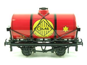 "Ace Trains O Gauge G1 Four Wheel ""Colas 33"" Red Fuel Tanker Wagon image 1"