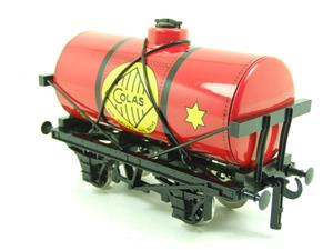 "Ace Trains O Gauge G1 Four Wheel ""Colas 33"" Red Fuel Tanker Wagon image 2"