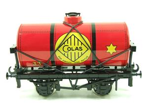 "Ace Trains O Gauge G1 Four Wheel ""Colas 33"" Red Fuel Tanker Wagon image 5"