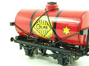 "Ace Trains O Gauge G1 Four Wheel ""Colas 33"" Red Fuel Tanker Wagon image 6"