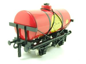 "Ace Trains O Gauge G1 Four Wheel ""Colas 33"" Red Fuel Tanker Wagon image 7"
