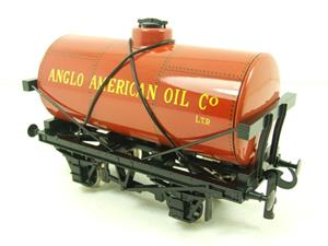 "Ace Trains O Gauge G1 Four Wheel ""Anglo American Oil"" Fuel Tanker Tinplate image 2"