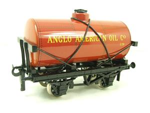 "Ace Trains O Gauge G1 Four Wheel ""Anglo American Oil"" Fuel Tanker Tinplate image 3"