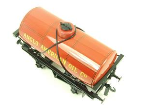 "Ace Trains O Gauge G1 Four Wheel ""Anglo American Oil"" Fuel Tanker Tinplate image 4"