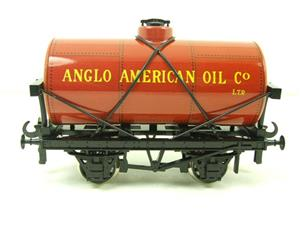 "Ace Trains O Gauge G1 Four Wheel ""Anglo American Oil"" Fuel Tanker Tinplate image 5"
