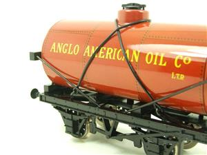 "Ace Trains O Gauge G1 Four Wheel ""Anglo American Oil"" Fuel Tanker Tinplate image 6"
