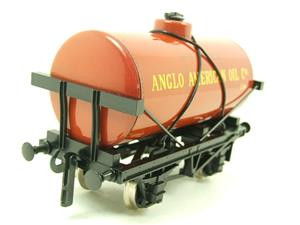 "Ace Trains O Gauge G1 Four Wheel ""Anglo American Oil"" Fuel Tanker Tinplate image 7"