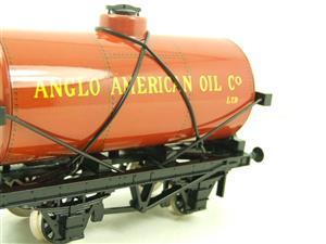 "Ace Trains O Gauge G1 Four Wheel ""Anglo American Oil"" Fuel Tanker Tinplate image 9"