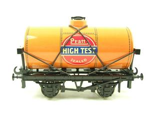 "Ace Trains O Gauge G1 Four Wheel ""Pratts High Test"" Fuel Tanker Tinplate image 1"