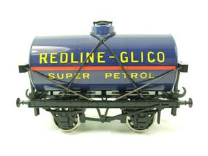 "Ace Trains O Gauge G1 Four Wheel ""Redline Glico"" Fuel Tanker Wagon image 1"